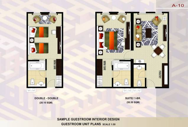 Hotel Room Plans Designs we international consultants limited